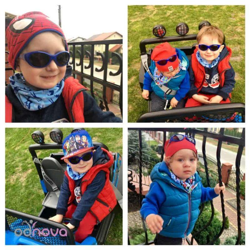 real kids, okulary przeciwsłoneczne