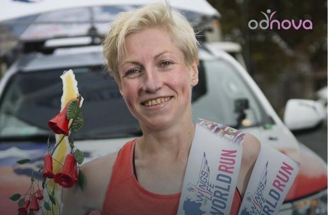 Dominika Stelmach, Mistrzyni świata, Wings For Life