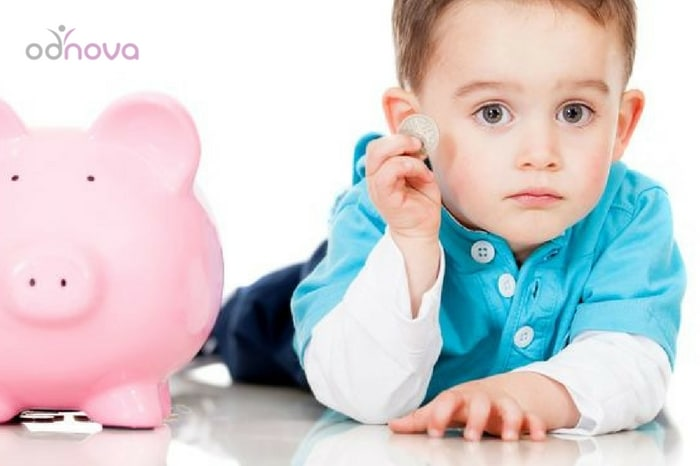 edukacja finansowa dziecka chłopiec