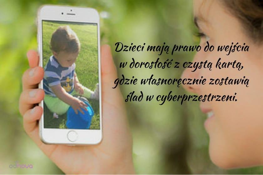 Cyber przestrzeń i Twoje dziecko, prywatność dziecka w sieci, udostępnianie zdjęć dzieci