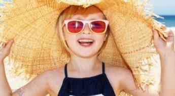 okulary przeciwsłoneczne dla dzieci, real kids, ochrona przed słońcem