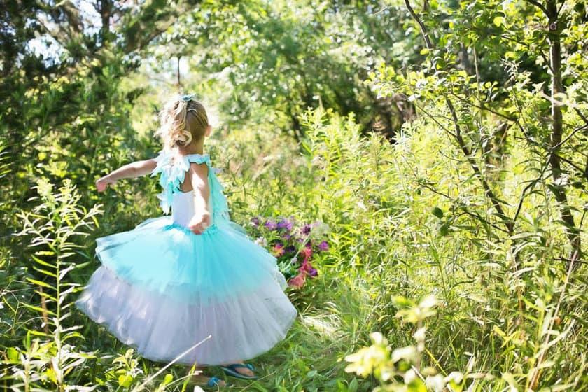 awantura podczas ubierania dziecka
