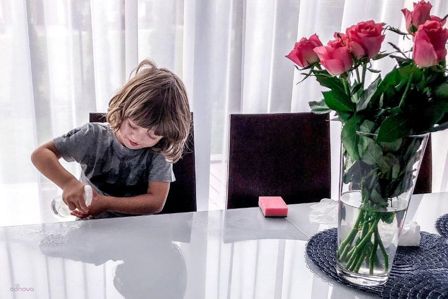 obowiązki domowe dla 4 latka