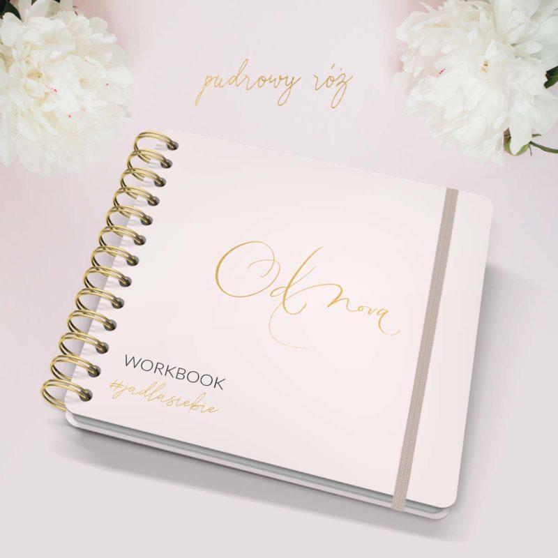 WorkBook JaDlaSiebie pudrowy róż